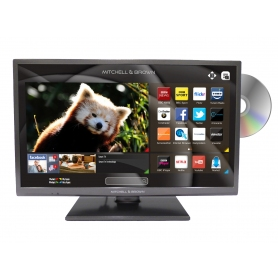 "32"" LED HD Smart TV with DVD Player and FreeViewPLAY"