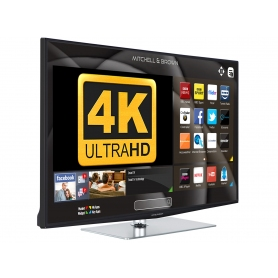 "40"" 4K UHD Smart TV with Freeview Play"