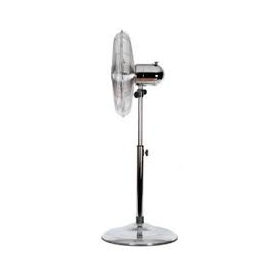 16 Inch Pedestal Fan Chrome - 1